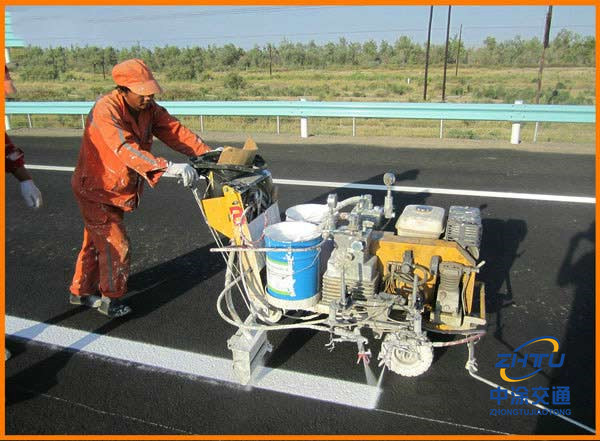 Two-Component Pavement Marking material (MMA Cold Plastic)